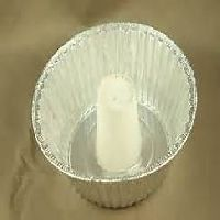 8 Angel Food Cake Pan Foil W Paper Tube Center