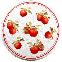Harvest Apple Burner Covers (4)