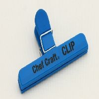 Large Bag Clip Blue