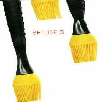 Set of 3 Silicone Tip Brushes- High Temp