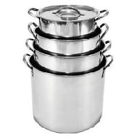 Stainless Steel Stockpot Set 8 Pieces