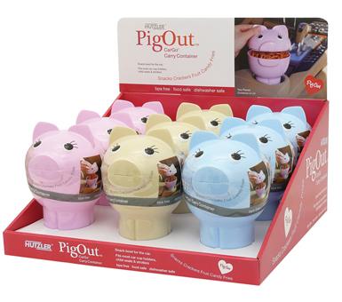 NEW PigOut Snack Travel Bowl Cargo Container