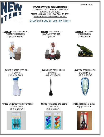 new item 04202018
